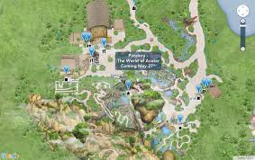 Map Of Magic Kingdom Orlando by Disney Has Updated Its Online Maps To Include Pandora The World