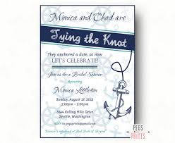 nautical bridal shower invitations printable nautical bridal shower invitation nautical bridal