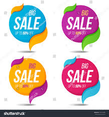 collection sale labels price tags banners stock vector 597375488
