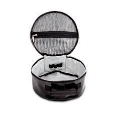 makeup bag makeup bag laquered black