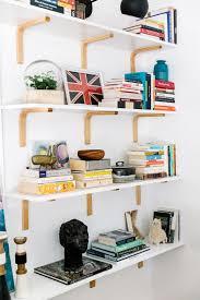 Homemade Bookshelves by Best 25 Wall Mounted Bookshelves Ideas Only On Pinterest Wall
