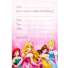 disney princess party invitations disney princess party