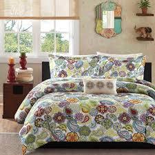 asha printed paisley comforter set by mizone hayneedle