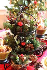 33 eye catching centerpieces for christmas wrought iron pine