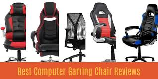 Computer Gaming Desk Chair Best Computer Gaming Chair Reviews 2017 Top Picks For Pc Gamers