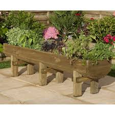 water trough planter forest garden mini garden trough planter 2 sizes available sold timber