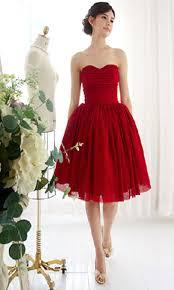 red sweetheart short bridesmaid richia u0027s wedding pinterest