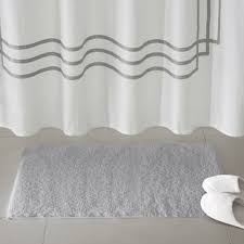 Grey Bathroom Rugs Gray Silver Bath Rugs Mats You Ll Wayfair