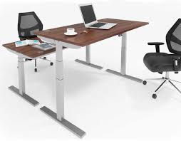 Sit Stand Office Desk Oak Sit Stand Office Desk 1200mm Electric Height Adjustable Desk