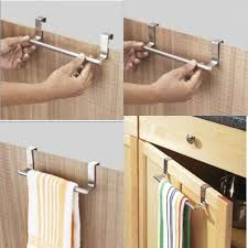 kitchen cabinet towel rack buy over cabinet door kitchen towel bar very useful product online