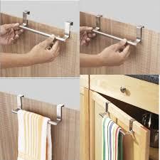 kitchen cabinet towel rail buy over cabinet door kitchen towel bar very useful product online