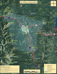 Wildfire Air Pollution Map by Outdoor Burning Lincoln County Firesafe Council In Northwest Montana