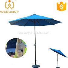 solar charger umbrella patio umbrella with led light u0026 usb