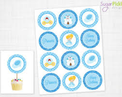 cinderella cupcake toppers cupcake toppers toppers birthday
