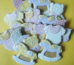 baby shower cookies cookie connection