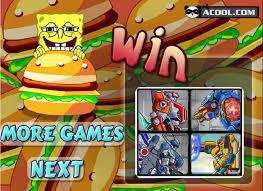 jeux de bob l 駱onge en cuisine jeu bob l éponge burger gratuit sur jeux com