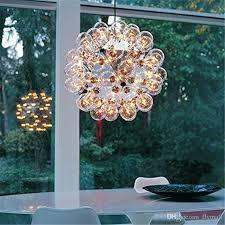 Glass Bubble Chandelier Discount Flos Taraxacum 88 Single Double Glass Bubble Pendant Lamp