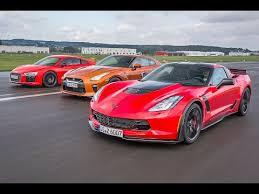 nissan corvette audi r8 v10 plus vs corvette z06 vs nissan gt r