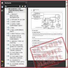 mitsubishi l200 wiring diagram free download wiring diagram and
