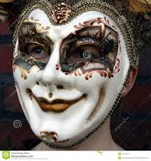 venetian carnival mask this is a girl wearing a venetian carnival mask showing a normal