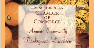 livingston area chamber of commerce to host annual thanksgiving