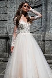 robe de mariã e princesse dentelle de mariée princesse manche longue fermeture éclair sur le côté