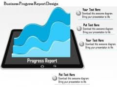 progress report powerpoint templates slides and graphics
