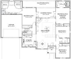 home floor plans 2 master suites house plans with 2 master suites rotunda info