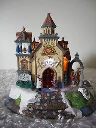 Guiding Light Church Lemax Village Collection Guiding Light Church Ebay