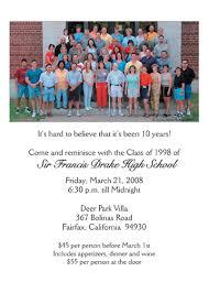 50th high school class reunion invitation reunion invitation