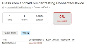 android automated test scripts with sample code coverage in 2017