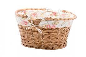cane laundry hamper reid standard basket kit white reid cycles