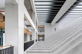 Building Interior Stairs Chengdu Aerospace Superalloy Technology Campus Tanghua Architect
