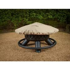 Outdoor Firepit Cover Mosaic 48 In Pit Cover Academy