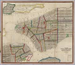 Map Of Brooklyn Ny Map Of The City Of New York David Rumsey Historical Map Collection