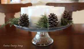 winter centerpieces carolina country living simple winter centerpiece
