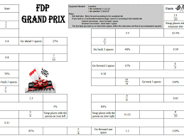 fdp conversion game fractions decimals percentages by