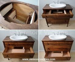 Sink Bowl On Top Of Vanity Best 25 Dresser Sink Ideas On Pinterest Diy Upcycled Vanity