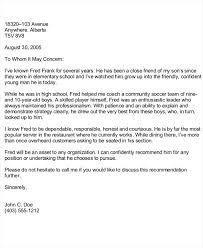 character reference letter sample character reference letter 6
