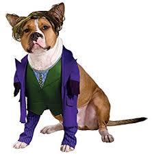Small Dog Halloween Costumes Amazon Joker Dog Pet Pet Costume Small Pet Costumes