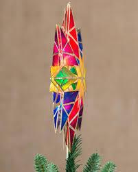 double sided starburst christmas tree topper balsam hill