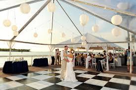 key west wedding venues clear tent the westin key west resort marina wedding
