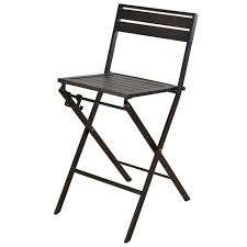 black foster folding barstool at home at home