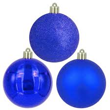 home accents 60 mm blue ornaments 30 count b1 60