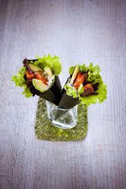cuisiner avec un rice cooker pour ovyager gustativement je vous propose un temaki de saumon et