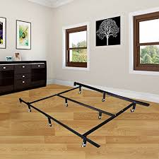 Assemble King Size Bed Frame Universal Easy To Assemble Heavy Duty Steel Metal Bed Frame With 4