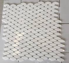 cheapest carrara white stone mosaic bianco carrara marble polished
