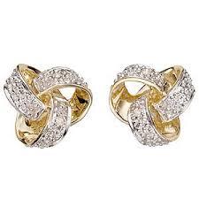 gold diamond earrings earring jewellery stud model