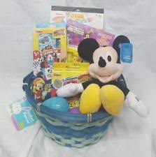 mickey mouse easter baskets mickey mouse easter basket ebay