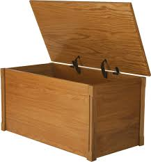 oak toy box and blanket chest abcs